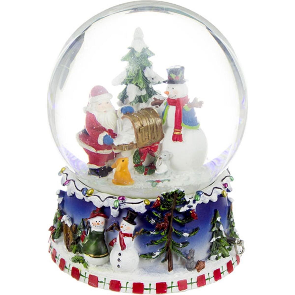 Фото в подарок на елочном шаре